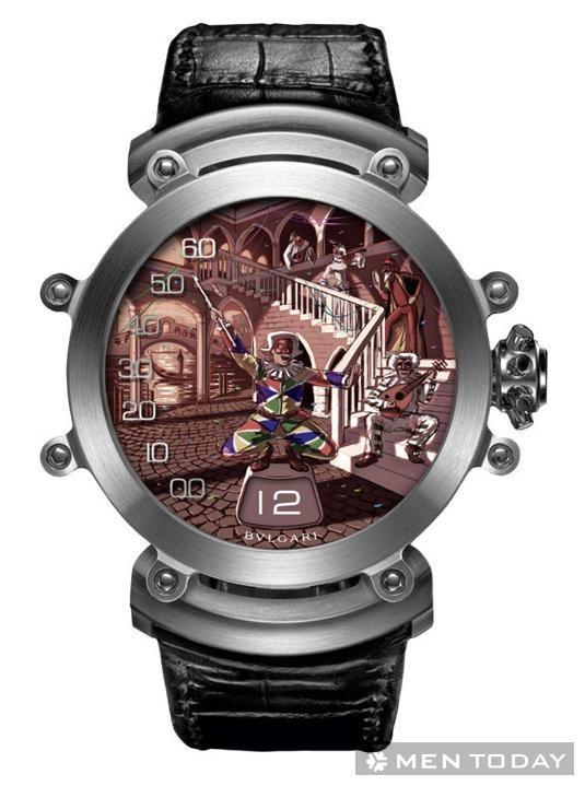 Kiệt tác đồng hồ BVLGARI Commedia dell' Arte