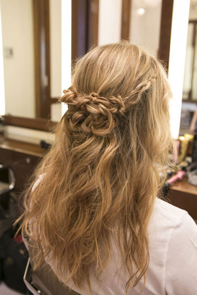 2 kiểu tóc tết dễ thương cho bạn gái năm 2016
