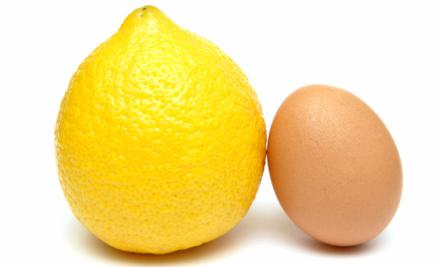 Da mặt đẹp với trứng gà và chanh leo