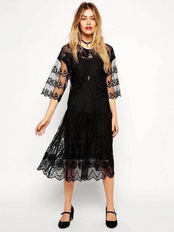 Những kiểu váy ren hot hè này cho quý cô sang trọng