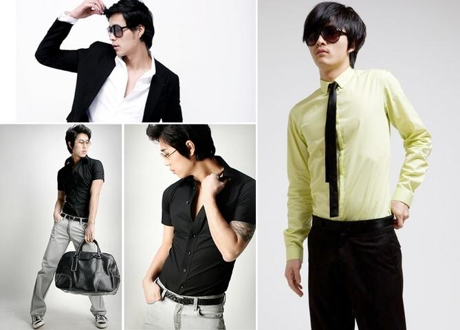 Tự tin hơn với sơ mi nam phong cách Hàn