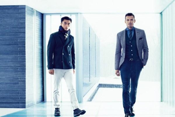 Hugo Boss với BST thời trang nam thu đông 'Autumn in London'