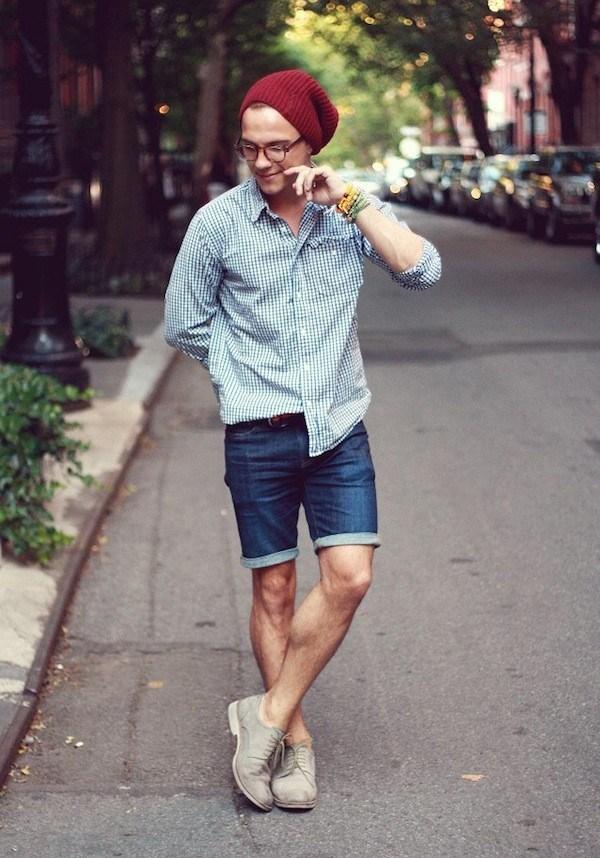 Mặc 'cực chất' như fashion icon Justin Livingston