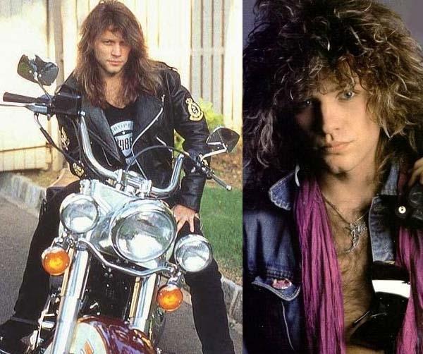 Mix đồ da như sao nhạc rock Jon Bon Jovi
