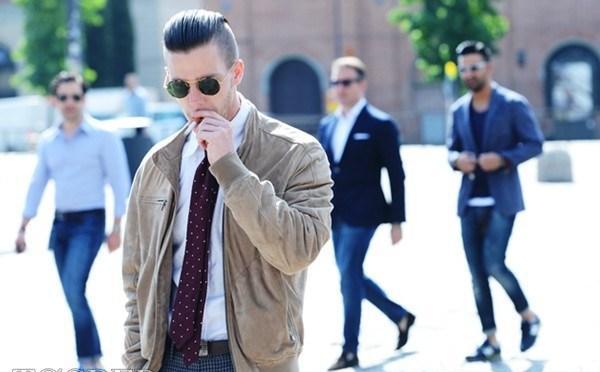 Những kiểu tóc nam 'bắt mắt' trên đường phố New York