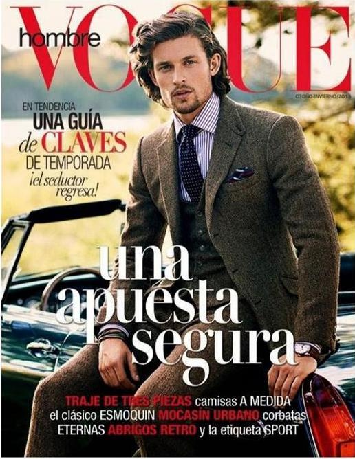 Phong cách cổ điển, phong trần như quý ông trên Vogue Hombre