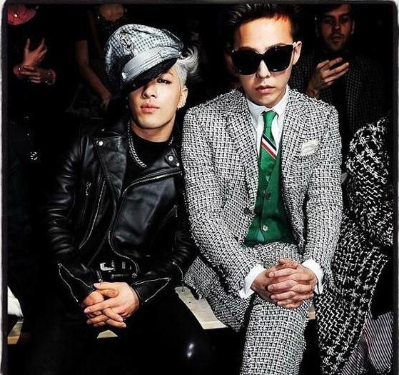 Style 'chất lừ' của Taeyang vs G-Dragon tại Paris