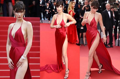 Chiếc váy khiến Bella Hadid cảm giác sợ hãi khi mặc ?