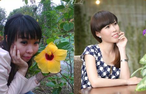 Cô gái 'vịt hóa thiên nga' hạnh phúc với khuôn mặt mới