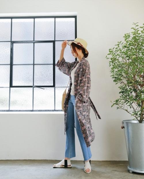 Áo khoác chiffon – chất xúc tác cho mọi phong cách mùa hè