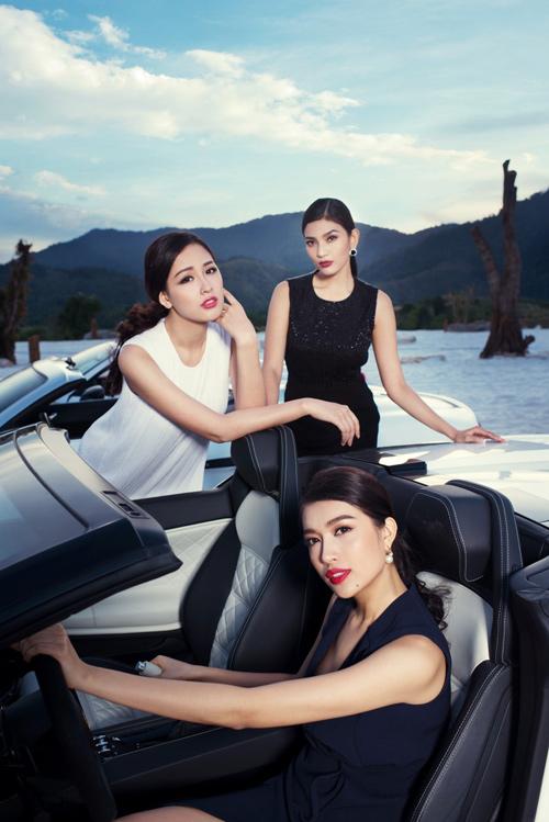 """Chi phí """"khủng"""" của bộ ảnh chụp 7 Hoa hậu, Á hậu"""