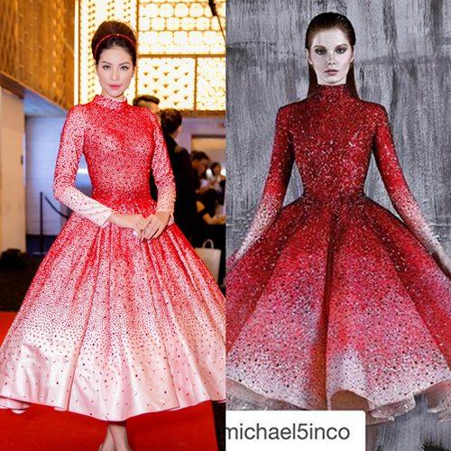 Những lần mỹ nhân Việt bị chê cười vì mặc váy nhái