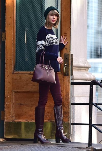 Thú chơi túi xách của sao Taylor Swift