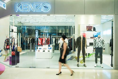 Thương hiệu thời trang quốc tế Kenzo