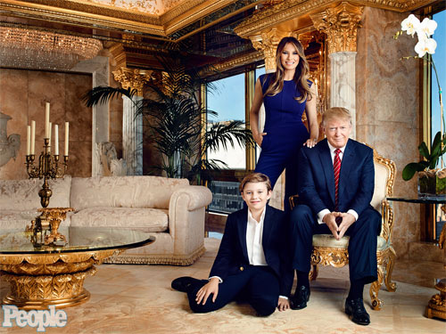 Vợ đẹp của tỷ phú Trump lộ ảnh khỏa thân