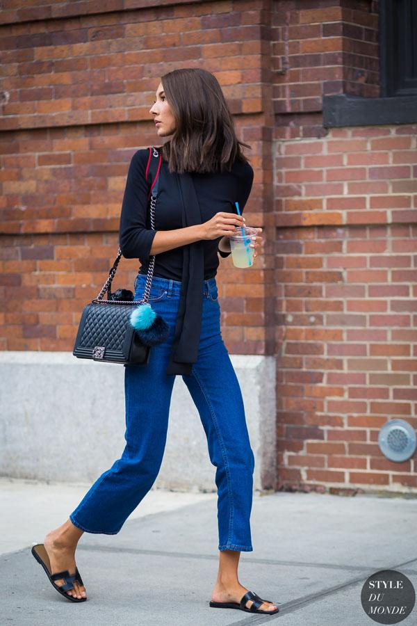 Mặc quần jeans cũ vẫn đẹp, vẫn tôn dáng?