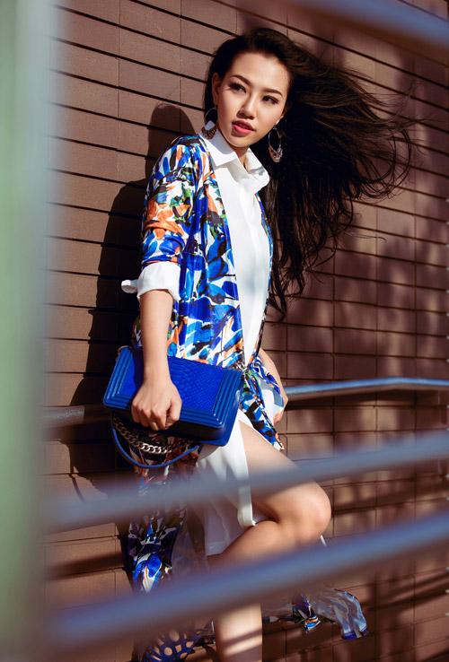 Muốn mặc áo bomber đẹp hãy ngắm hot girl Joxy Thùy Linh ngay lập tức