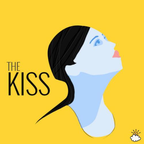 Tư thế nụ hôn giúp khuôn mặt thon gọn thanh tú