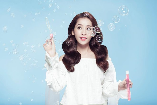Bí quyết chăm sóc tóc đẹp luôn bồng bềnh suôn mượt của hot girl Chi Pu