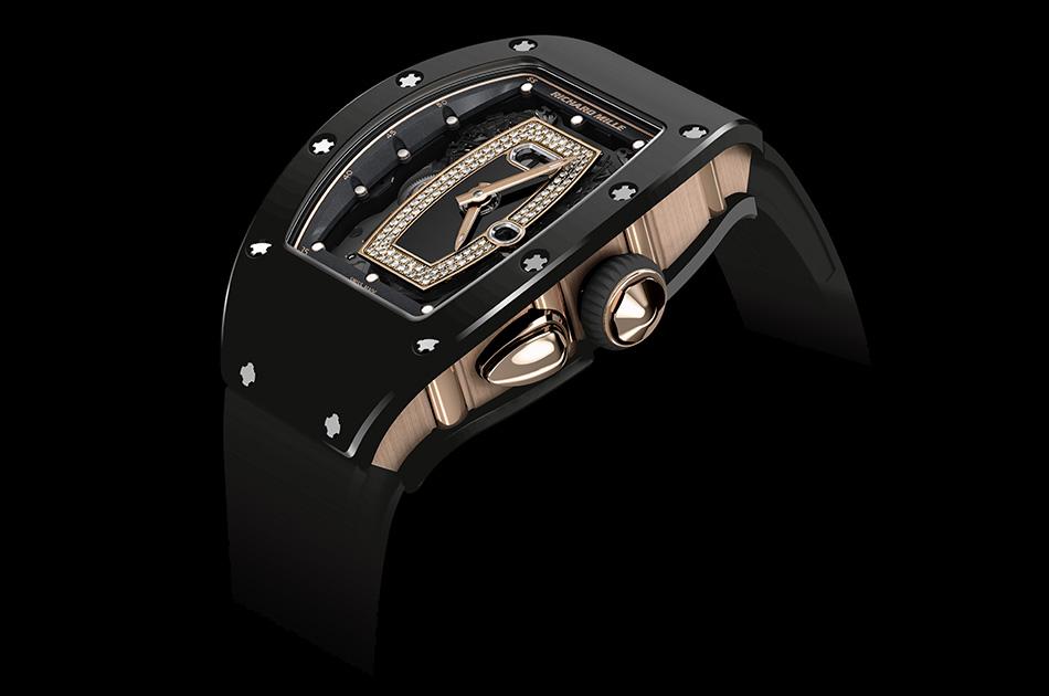 Đồng hồ Richard Mille RM 037 với thiết kế xe đua thanh lịch