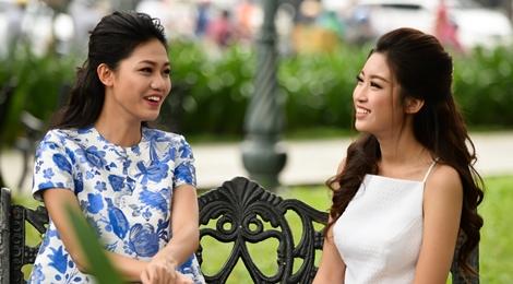 Hoa hậu Mỹ Linh đọ dáng với Thanh Tú