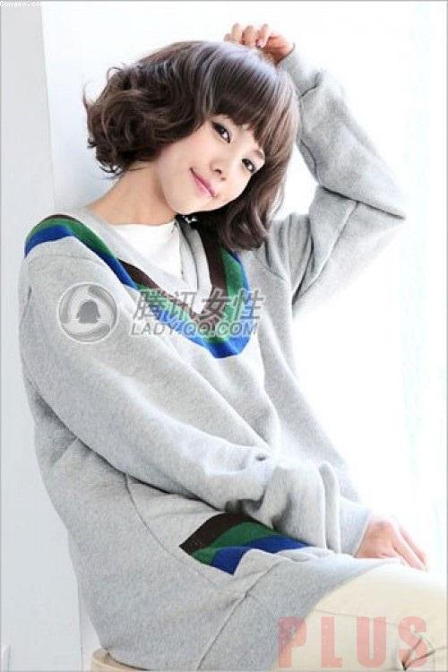 Tóc ngắn đẹp cho bạn gái cá tính thoải mái dạo chơi
