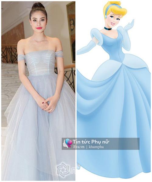 """""""Yêu hết nấc"""" khi sao Việt hóa thành công chúa Disney"""