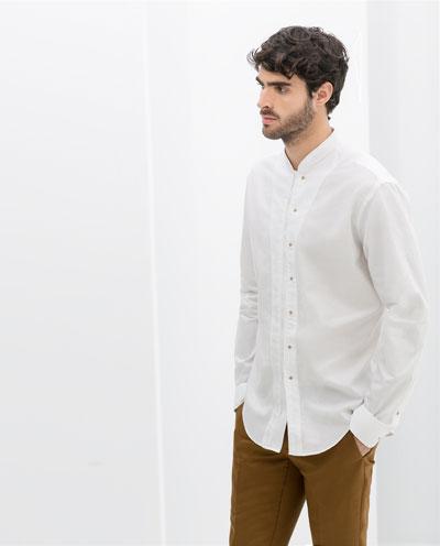 Phối áo sơ mi nam công sở trắng đẹp cho các chàng trẻ trung