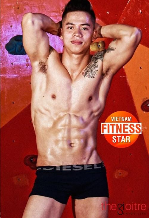 Chàng cò hương ở Hà Thành lột xác vạm vỡ nhờ tập gym