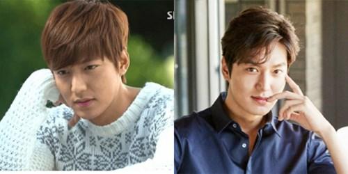 Học cách mỹ nam Hàn đẹp trai sáng láng khi để mái trái tim