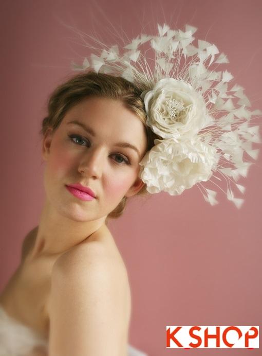 Những kiểu tóc cô dâu cho nàng dệ thương trong ngày cưới
