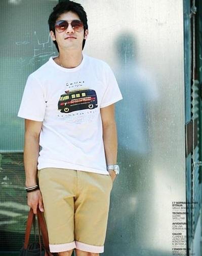 Những kiểu áo thun nam đẹp xì kul cho chàng teenboy