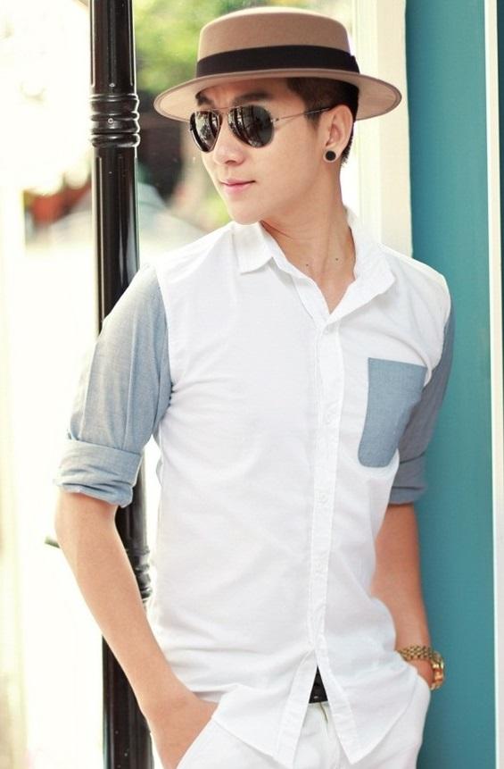 Trẻ trung phong cách cực chất với sơ mi nam phong cách Hàn