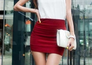 Chân váy đầm ôm ngắn đẹp cho vòng 3 gợi cảm