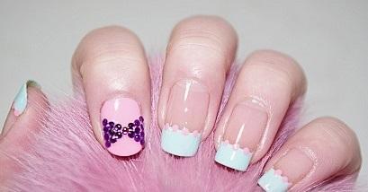 Hướng dẫn vẽ nail màu pastel đẹp đơn giản cho nàng cute nhất 2017