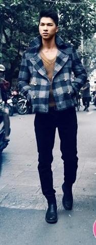 Áo khoác nam dạ đẹp lịch lãm ấm áp dạo phố Hà thành đông 2017