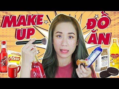 Make up bằng thức ăn - thú vui trang điểm mới của các cô nàng