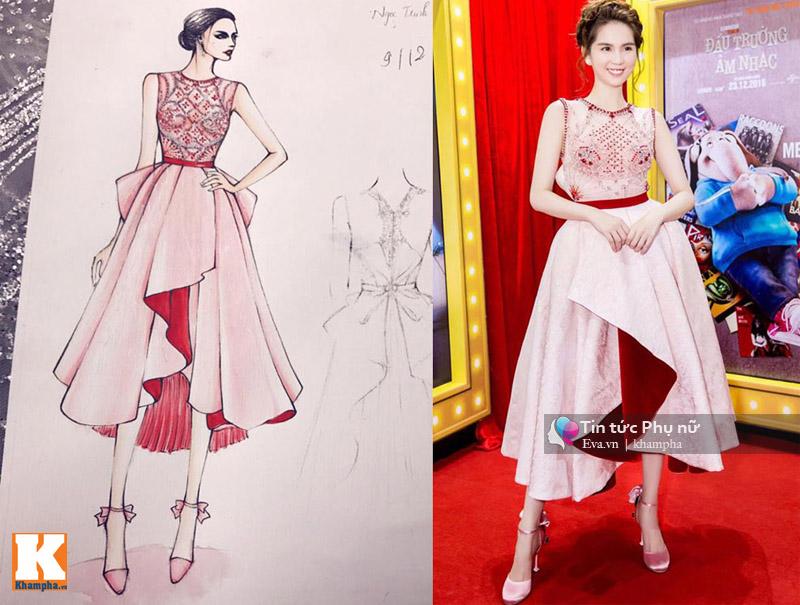 Chiếc váy hot nhất của Ngọc Trinh, Thu Thảo, Chi Pu