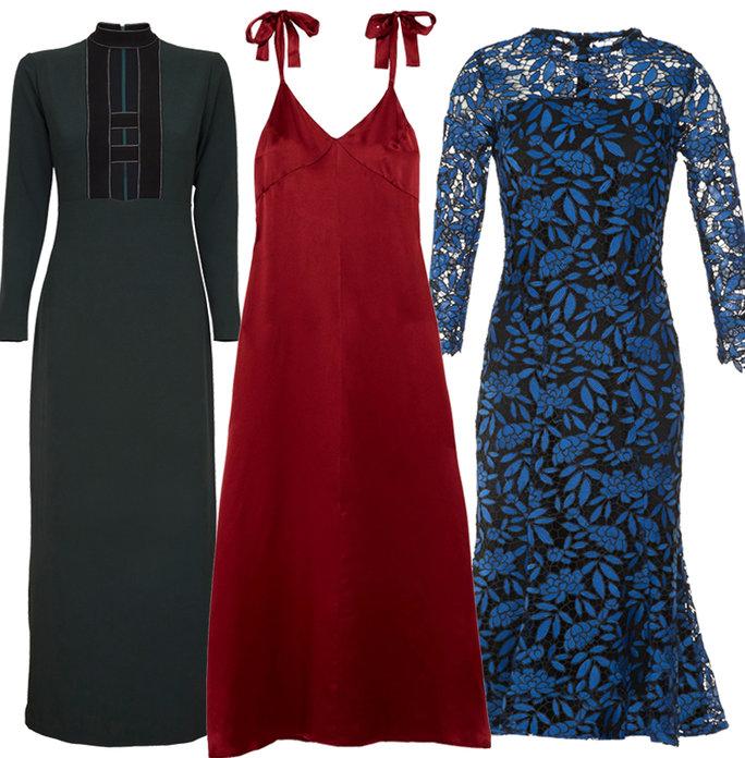 Chọn váy để tỏa sáng đêm tiệc nào các chị em