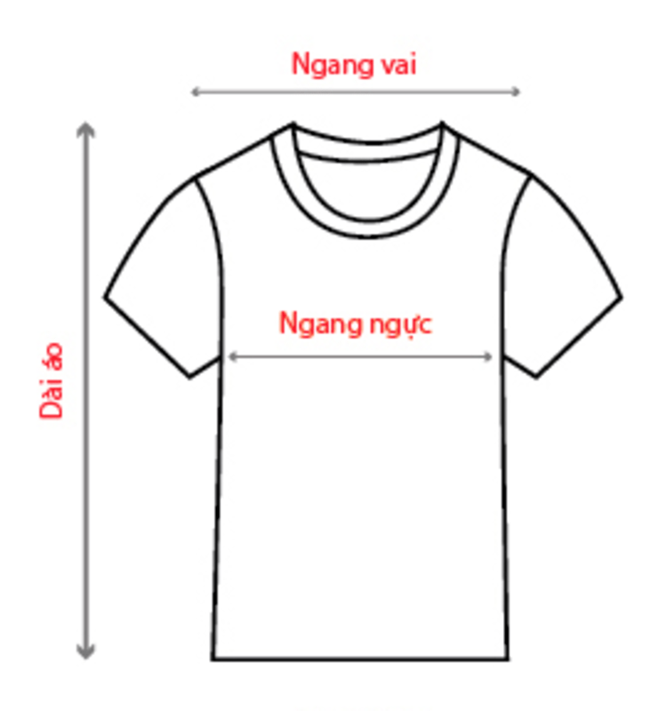 Hướng dẫn cách chọn size áo thun nam nữ chuẩn nhất