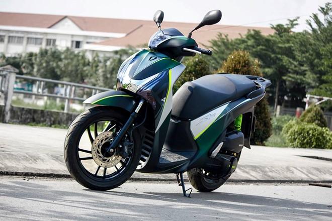 Sơn phối màu độc cho bộ cánh Honda SH đầy phong cách