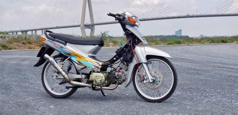 Xe Wave Alpha độ đẹp nhất được trang bị nhiều đồ chơi hàng hiệu