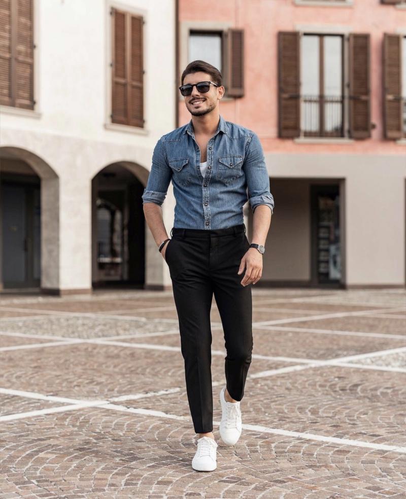 8 cách phối đồ đơn giản giúp chàng tự tin