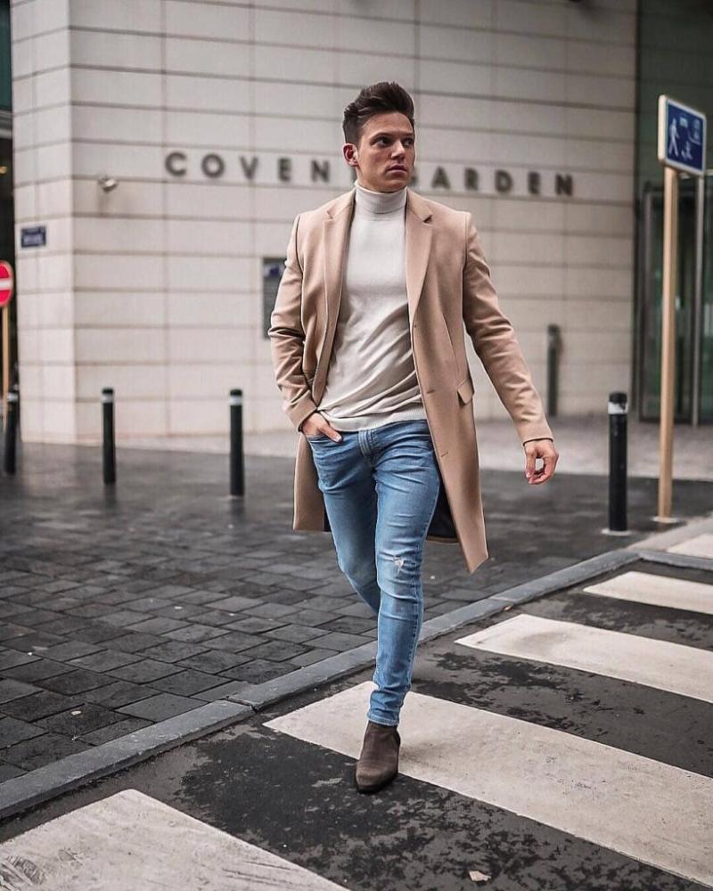 5 gam màu coat jacket siêu dễ phối đồ cho chàng