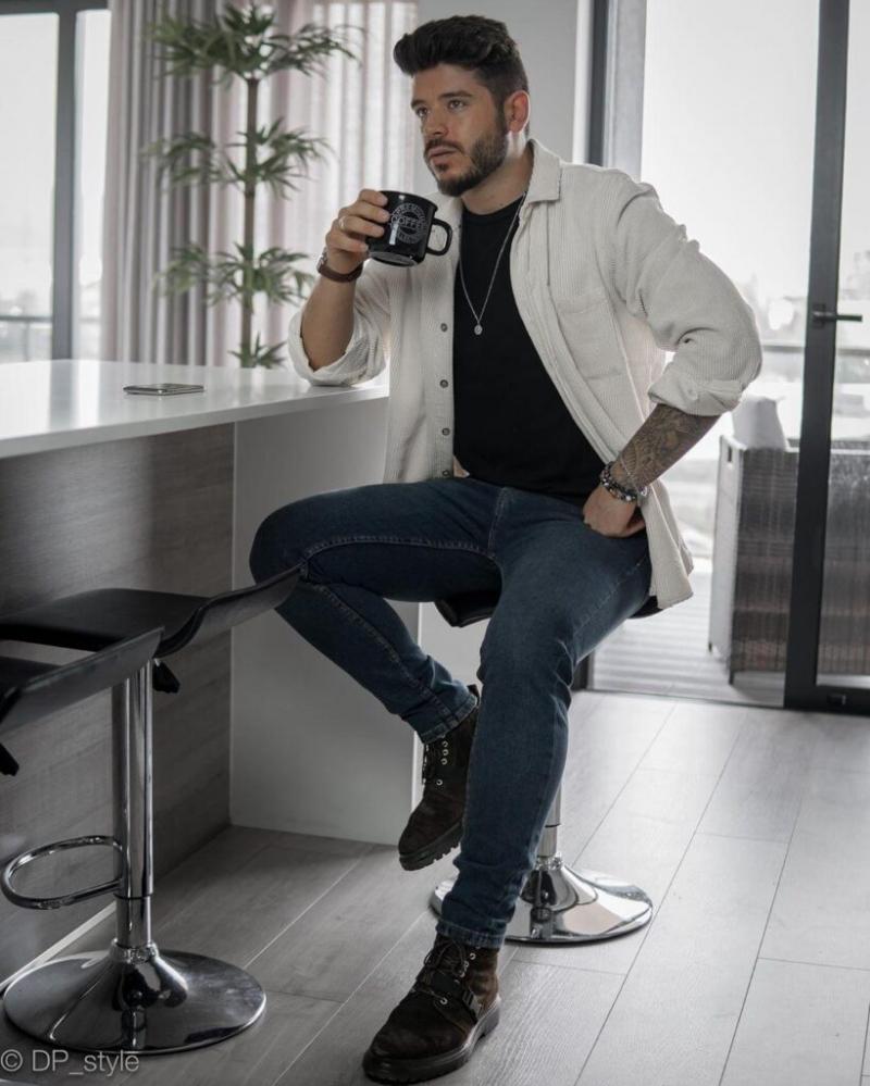 Cảm hứng phối layer style với áo sơ mi cho chàng độc đáo