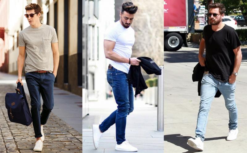 10 cách mix đồ với quần jean nam cực mạnh mẽ