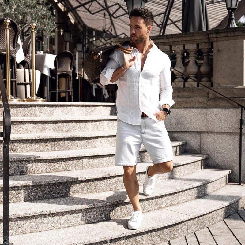 5 cách phối áo sơ mi trắng nam giúp chàng luôn độc đáo