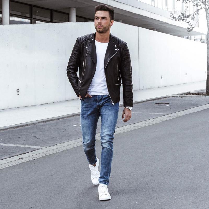5 tips phối đồ cùng giày sneaker trắng giúp chàng định hình mạnh mẽ