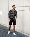 3 gợi ý phối quần short cùng áo sơ mi giúp chàng xuống phố yêu thích