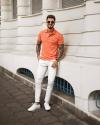 4 gợi ý phối đồ cùng quần chinos trắng giúp chàng định hình vẻ ngoài độc đáo